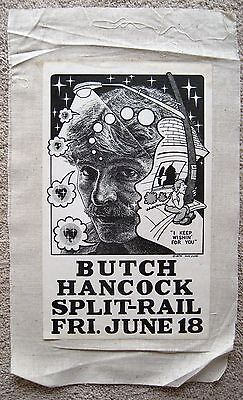 1976 GUY JUKE KEEP WISHIN BUTCH HANCOCK SPLIT RAIL AUSTIN ARMADILLO POSTER
