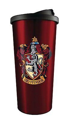 Harry Potter Gryffindor 16 oz Stainless Steel Travel Tumbler Coffee Mug