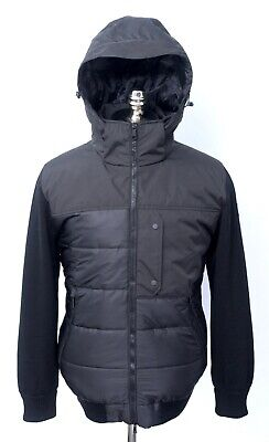 $1240 NWT Paul & Shark Yachting Black Primaloft Hooded Puffer Coat Jacket 2XL