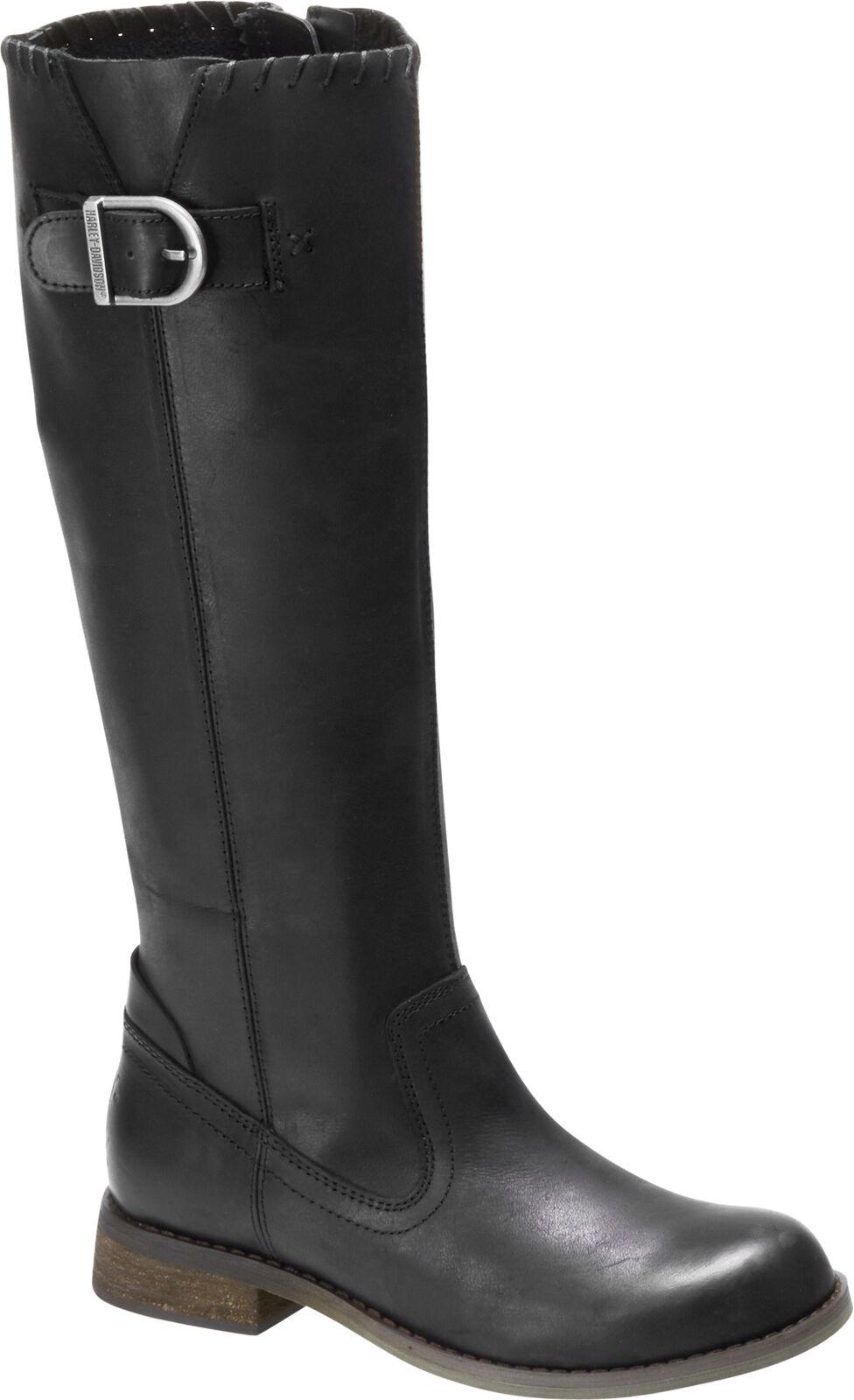 Harley-Davidson Women's Keyser 15-Inch Black or Brown Motorcycle Boots D84484