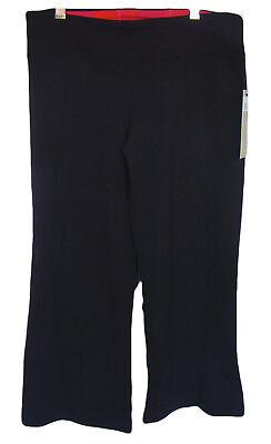 ZOBHA Size 6 Black EVOLVE CAPRI Yoga Fitness Pants NWT