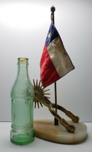 Patent Nov. 6, 1923 Brady Bottling Works Embossed SODA 6oz Root BOTTLE ☆ Texas ☆