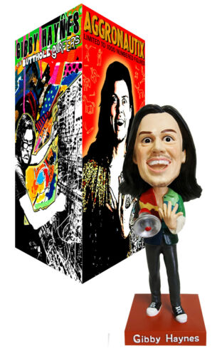 BUTTHOLE SURFERS GIBBY HAYNES Punk New 2021 Ltd Ed BOBBLEHEAD FIGURE In Box
