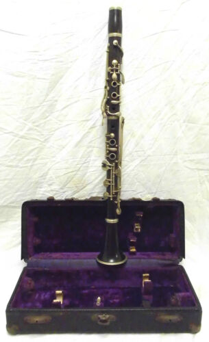 Improved Albert System Wood Bb Clarinet in Good Condition c1900 - Make an Offer!