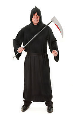 be Halloween Fancy Dress Costume Scary Grim Reaper Outfit (Horror Robe)