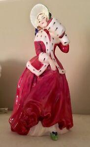 Royal Doulton Xmas girl