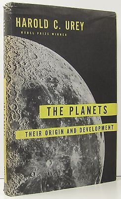 Harold C Urey The Planets Their Origin And Development 1St Am Ed Astronomy 1952