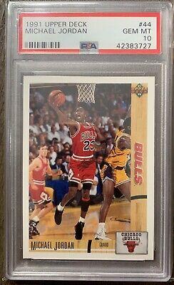 1991 Michael Jordan Upper Deck PSA 10