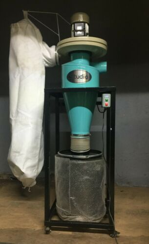 1 HP Cyclone Dust Collector    Green