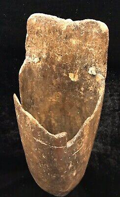 Vintage Wooden Wall Hanging Vase