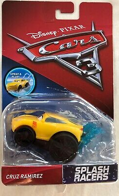 DISNEY PIXAR CARS 3 SPLASH RACERS CRUZ RAMIREZ (Mattel, 2016) NEW