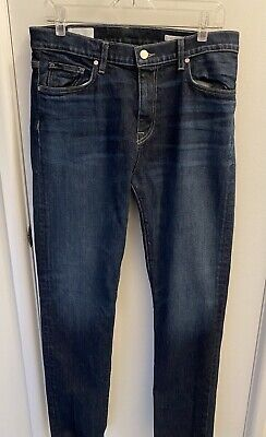BLDWN Baldwin $178 Modern Slim Jeans 32x33 Color Costa USA Made cut 501