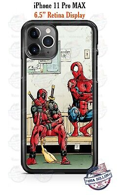 Spiderman Deadpool Superhero Phone Case Cover For iPhone 11Pro Samsung LG etc