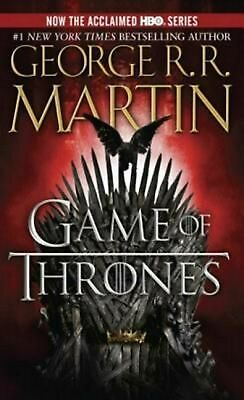 A Game of Thrones by George R.R. Martin (English) Prebound Book Free Shipping!