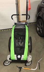 Chariot single with infant sling / bike trailer