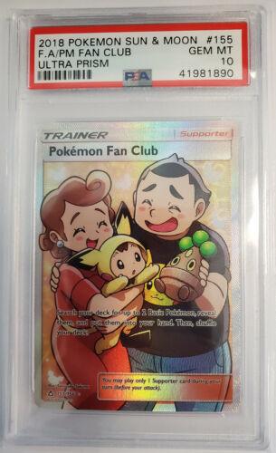 OtBG x1 Pokemon Fan Club 133//156 Ultra Prism SM reverse Holo Foil Near Mint NM