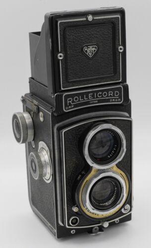 Rollei Rolleicord III K3B 120 Film TLR Camera w/ Schneider Xenar 75mm F3.5 Lens