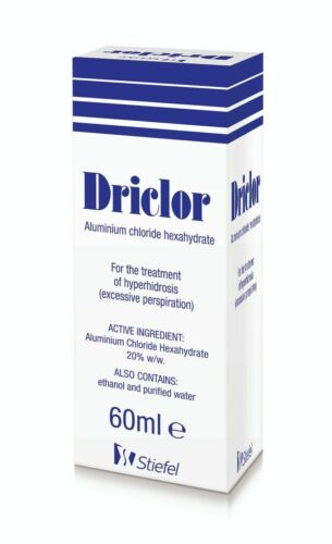 Driclor Antiperspirant Roll-On Applicator Excessive Sweating - 60 ml - US SELLER