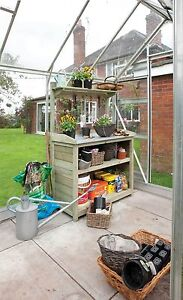 PREMIER POTTING STATION, GARDEN BUILDING SHED STORAGE ROWLINSON - BUTTERCUP FARM