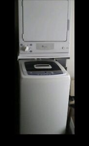 GE portable washer with wheels & GE compact dryer ...canDeliver