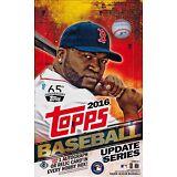 2016 Topps Update Series Baseball sealed hobby box 36 packs of 10 cards