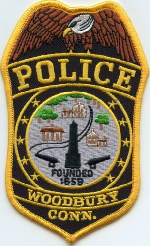 WOODBURY CONNECTICUT CT POLICE PATCH