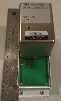 Hp 10811-60111 Crystal Oscillator 10 Mhz With Mounting Board