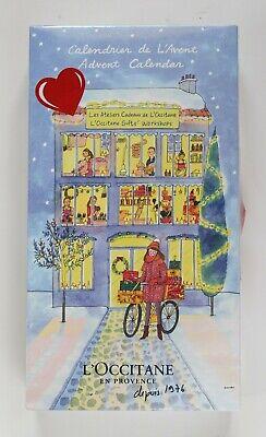 L'Occitane 2016 Holiday Beauty Advent Calendar 24 Piece Gift Set BRAND NEW