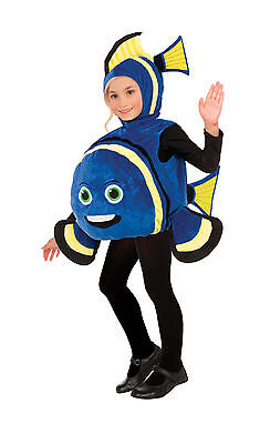 Child Blue Fish Finding Nemo Dory Costume