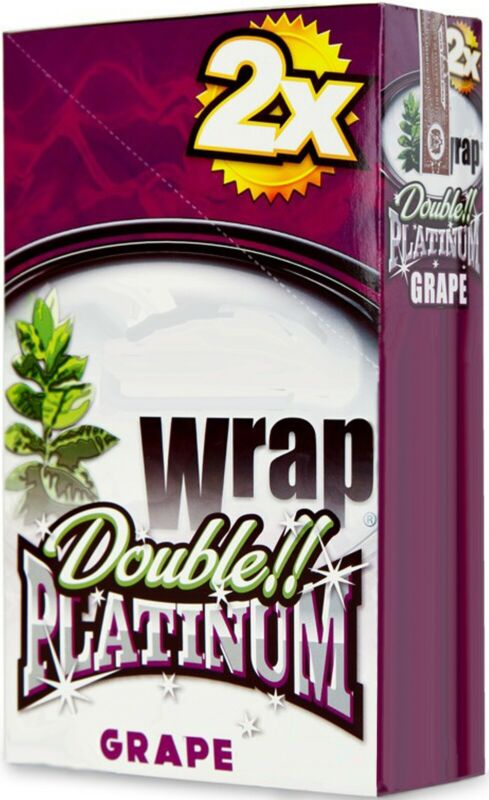 ALL Rolling Wraps Papers GRAPE Full box 50 Wraps This is Not Organic Wraps