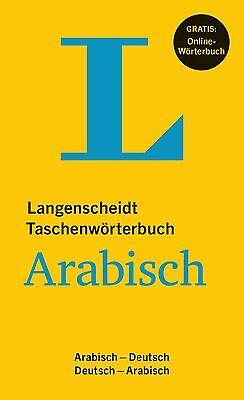 NEU: LANGENSCHEIDT Taschenwörterbuch Arabisch-Deutsch / Dt.-Arabisch Wörterbuch