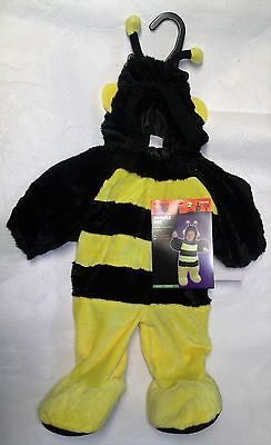 NEW HALLOWEEN COSTUME TODDLER BUMBLE BEE 1 PIECE SIZE 0 - 6 MONTHS](Toddler Halloween Costumes Bumble Bee)