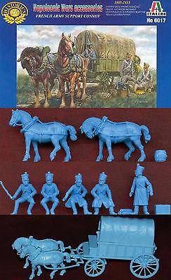1:72 FIGUREN 6017 NAPOLEONIC FRENCH ARMY SUPPORT CONVOY - ITALERI