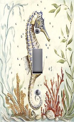 Light Switch Plate Outlet Covers~BEACH DECOR ~ SEAHORSE](Beach Light Switch Covers)