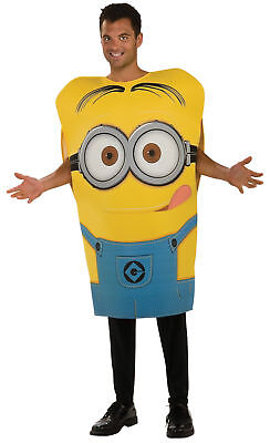 Minion Dave Adult Costume Yellow Despicable Me Movie Funny Comical Halloween