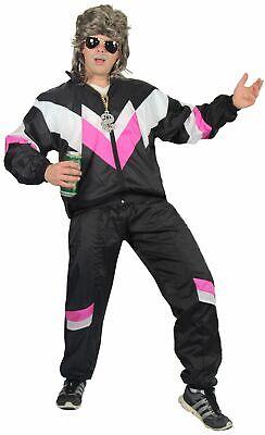 Deluxe 80er Jahre Kostüm für Erwachsene Trainingsanzug Assianzug - Deluxe Kostüme Für Erwachsene