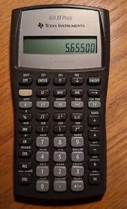 Texas Instruments TI BA II Plus Calculator (CFA) Finance