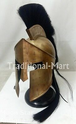 300 Movie Spartan King Leonidas best Medieval Roman Helmet Heroic Costumes  - Best Spartan Costume