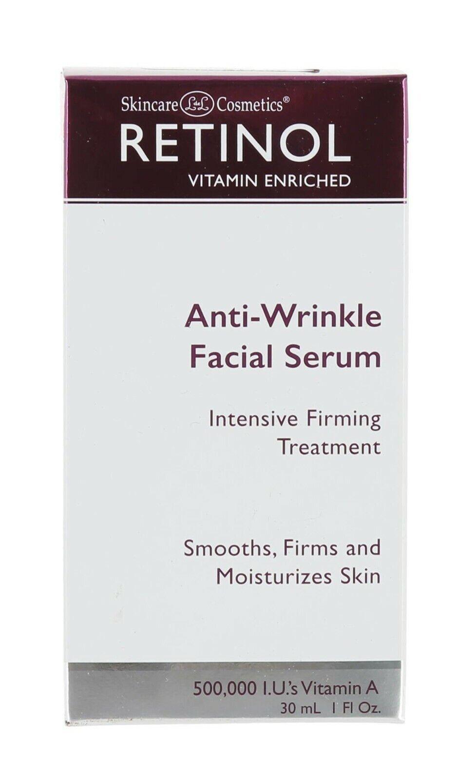 Skincare LdeL Cosmetics, Retinol Enriched Anti-Wrinkle Facia