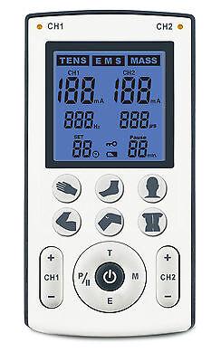 Dittmann Ten 250 Tens/EMS/Wellness 3in1 Gerät mit Zusatzfunktion für Zubehör