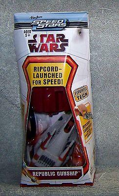 Star Wars Speed Stars 2010 Republic Gunship Set