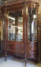 Vintage French Louis XVI Vitrine, China Display Cabinet. Zetland Inner Sydney Preview