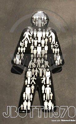 Brand New Prostate Cancer ©- (MEN UNITED) UK Pin Badge Sealed ⭐️⭐️⭐️