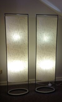 2x Contemporary Floor Lamps