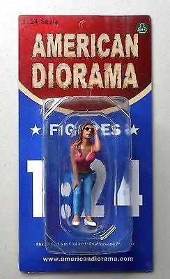 "LOOK OUT GIRL ERIKA AMERICAN DIORAMA 1:24 Scale Figurine 3"" LADY FEMALE Figure"