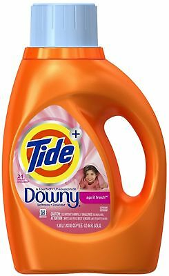 Tide+ Downy 2X Liquid Laundry Detergent