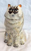 Large Ceramic Persian Cat Money Box - Bnib - rjb - ebay.co.uk