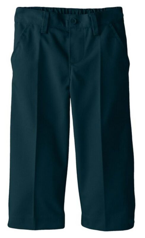 Toddler Hunter Green Pull On Pants Flat Front Smith School Uniform Size 2T to 4T