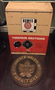 Vintage items  - Bowes Seal Fast Display, Signs and more