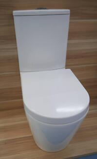 New SI Nova Back To Wall Toilet Suite S or P Trap Bathrooms